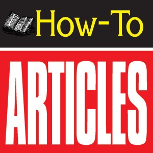 The Greatest Guide To How To Articles